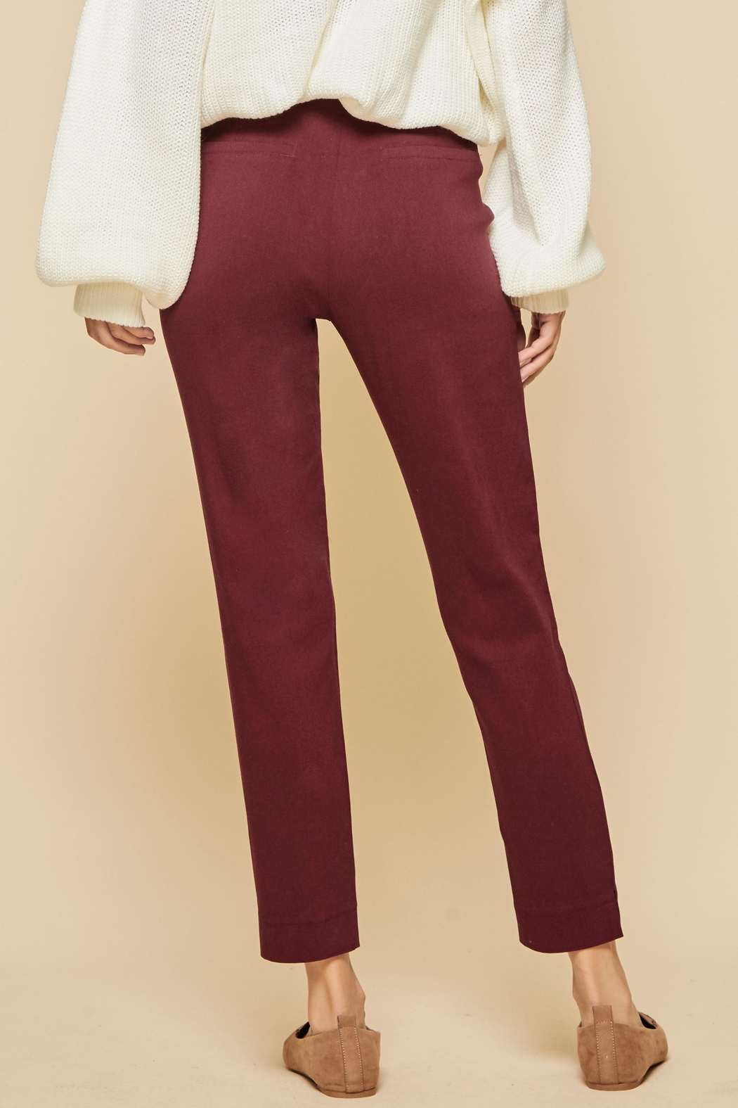 Andree by Unit Stretch Cotton Leggings - Front Full Image