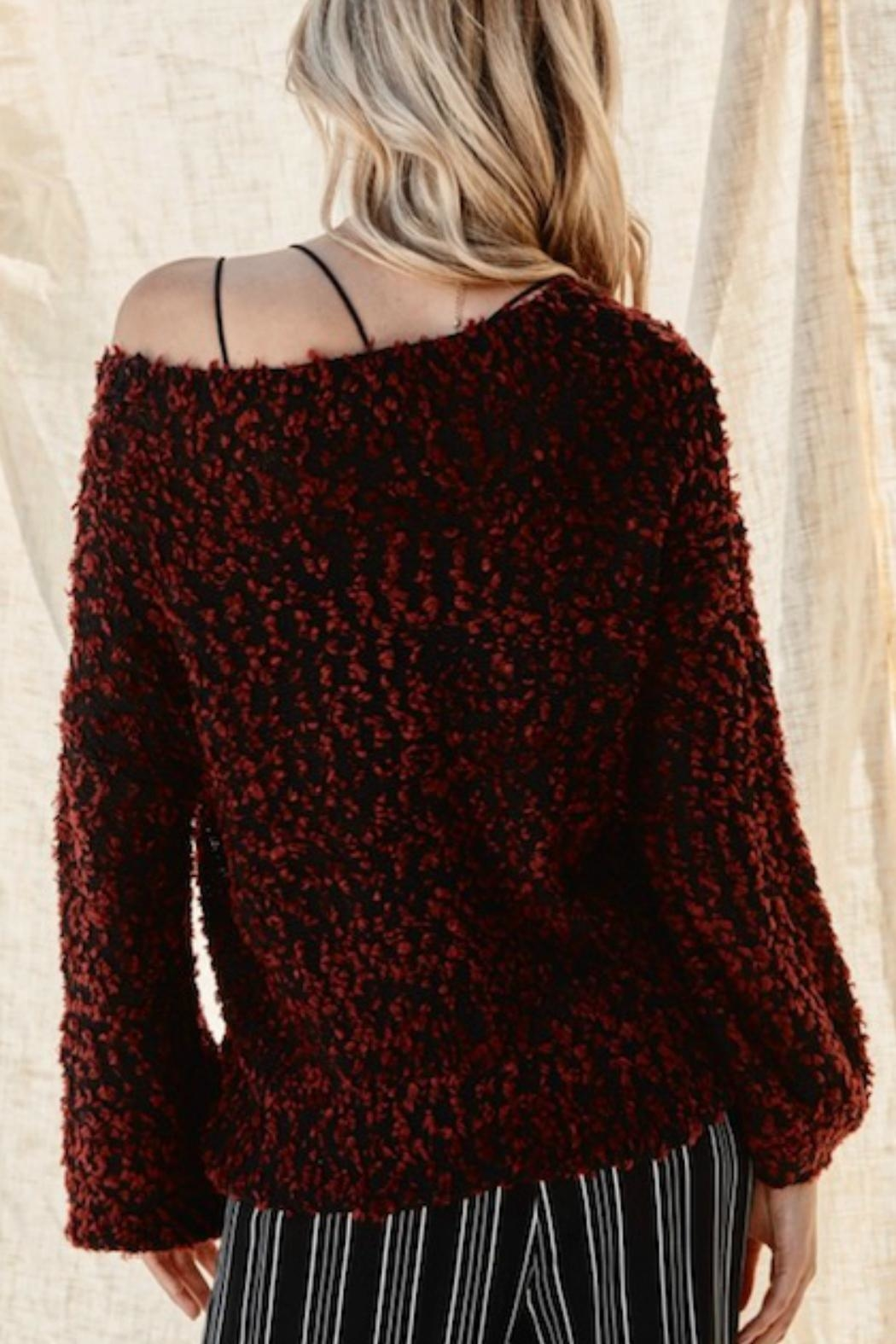 Andree by Unit The Seona Sweater - Back Cropped Image