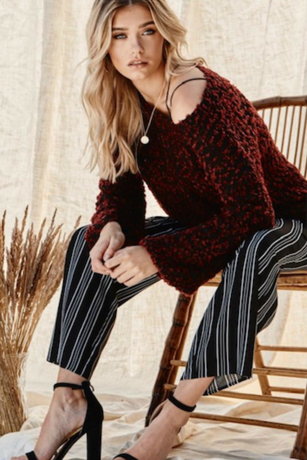 Andree by Unit The Seona Sweater - Side Cropped Image