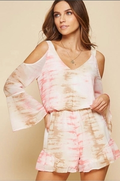 Andree by Unit Tie Dye Romper - Product List Image