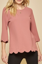 Andree by Unit Tulip Hem Top - Product Mini Image