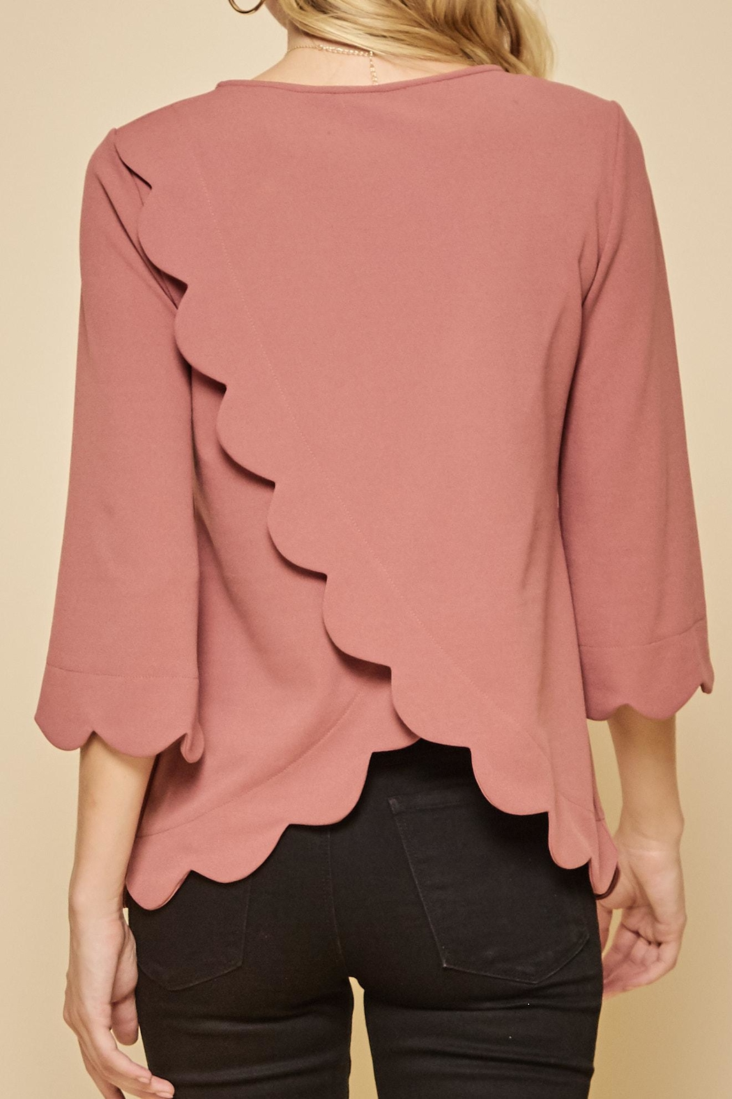 Andree by Unit Tulip Hem Top - Front Full Image