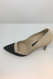 Andrew Kayla Leather Pump - Back cropped