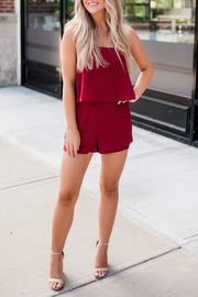 Buddy Love Andrews Game Day Romper - Front cropped