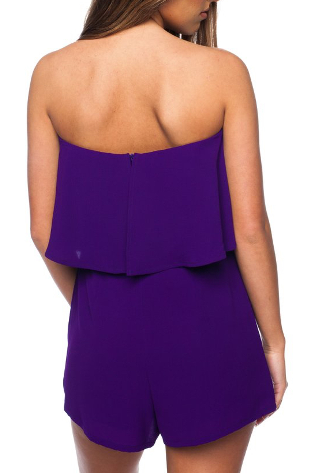 Buddy Love Andrews Game Day Romper - Side Cropped Image