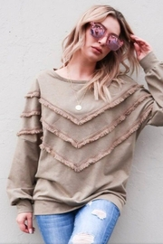 andthewhy Tassel Detailed Sweatshirt - Product Mini Image