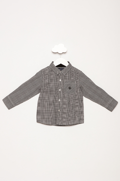 Andy & Evan Black Check Button Down - Product List Image