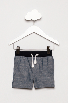 Shoptiques Product: Chambray Ribbed Shorts