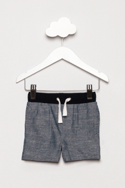 Andy & Evan Chambray Ribbed Shorts - Product Mini Image