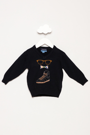 Andy & Evan Navy Sunglasses Sweater - Product Mini Image
