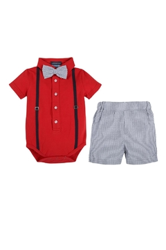 Andy & Evan Bow Tie Outfit - Product List Image
