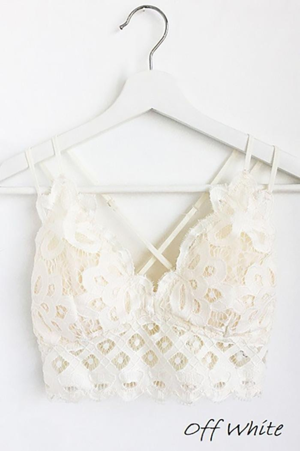 Anemone Beautiful Crochet Lace Bralette - Main Image