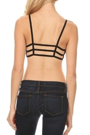 Anemone Caged Bralette - Back cropped