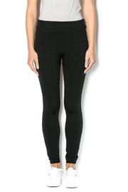 Anemone Black Highwaisted Fleece Leggings - Product Mini Image