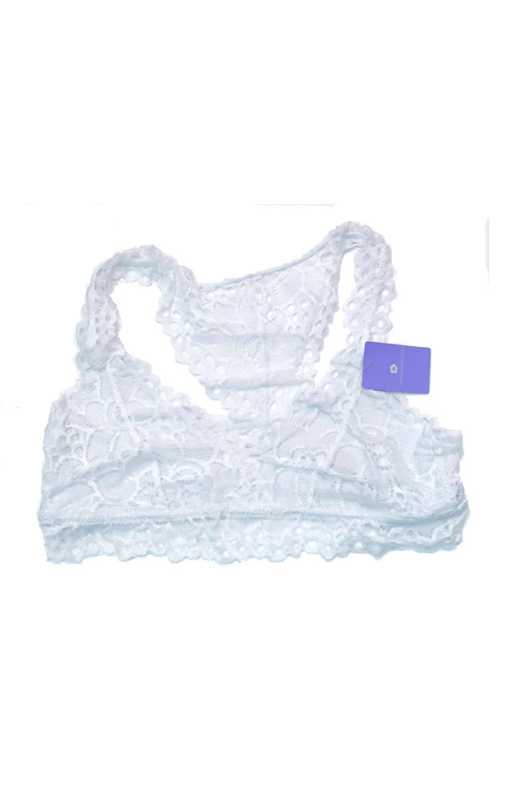 Anemone Lace Bralette - Front Cropped Image