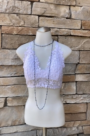 Anemone Pull Over Lace Bralette - Product Mini Image
