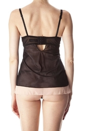 Anemone Romantic Lace Chemise - Back cropped