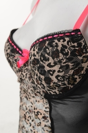 Anemone Sexy Leopard Babydoll - Back cropped