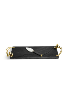 Shoptiques Product: ANEMONE SMALL CHEESE BOARD W/KNIFE