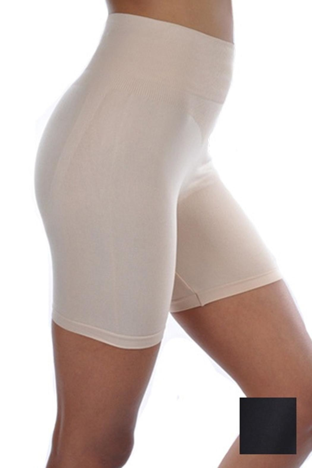 Anemone Smoothing Shapewear Shorts - Front Cropped Image