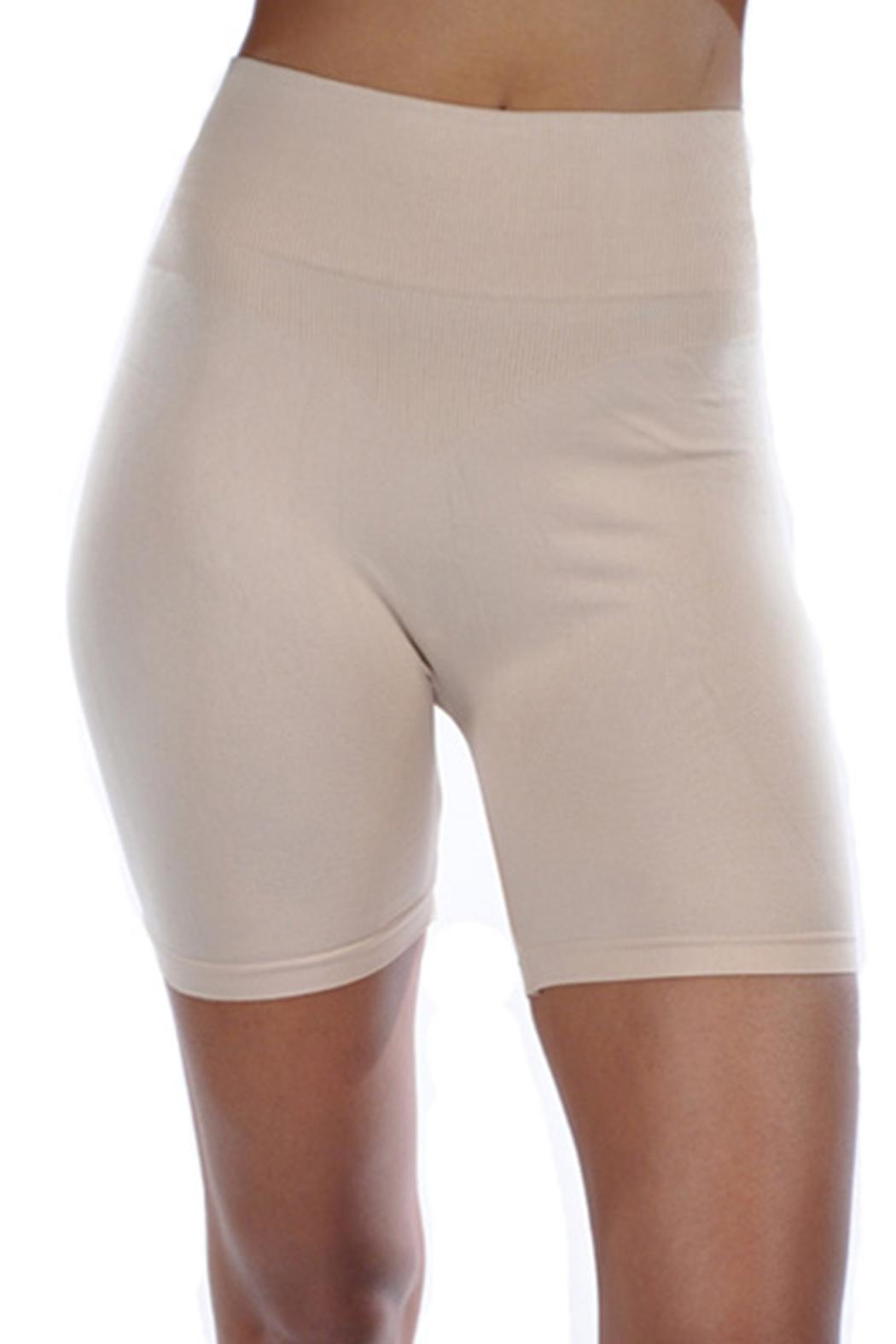 Anemone Smoothing Shapewear Shorts - Front Full Image
