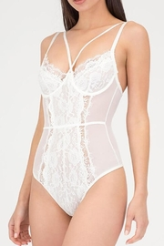 Anemone Strappy Thong Bodysuit - Product Mini Image
