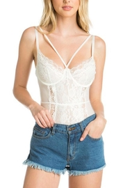 Anemone Strappy Thong Bodysuit - Side cropped