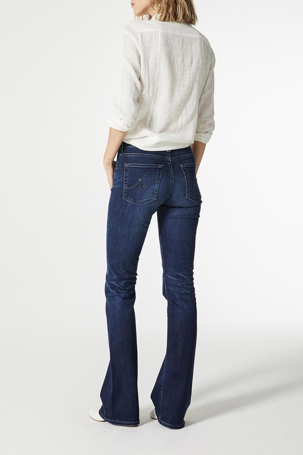 AG Jeans Angel Bootcut Summer-Blues - Side Cropped Image