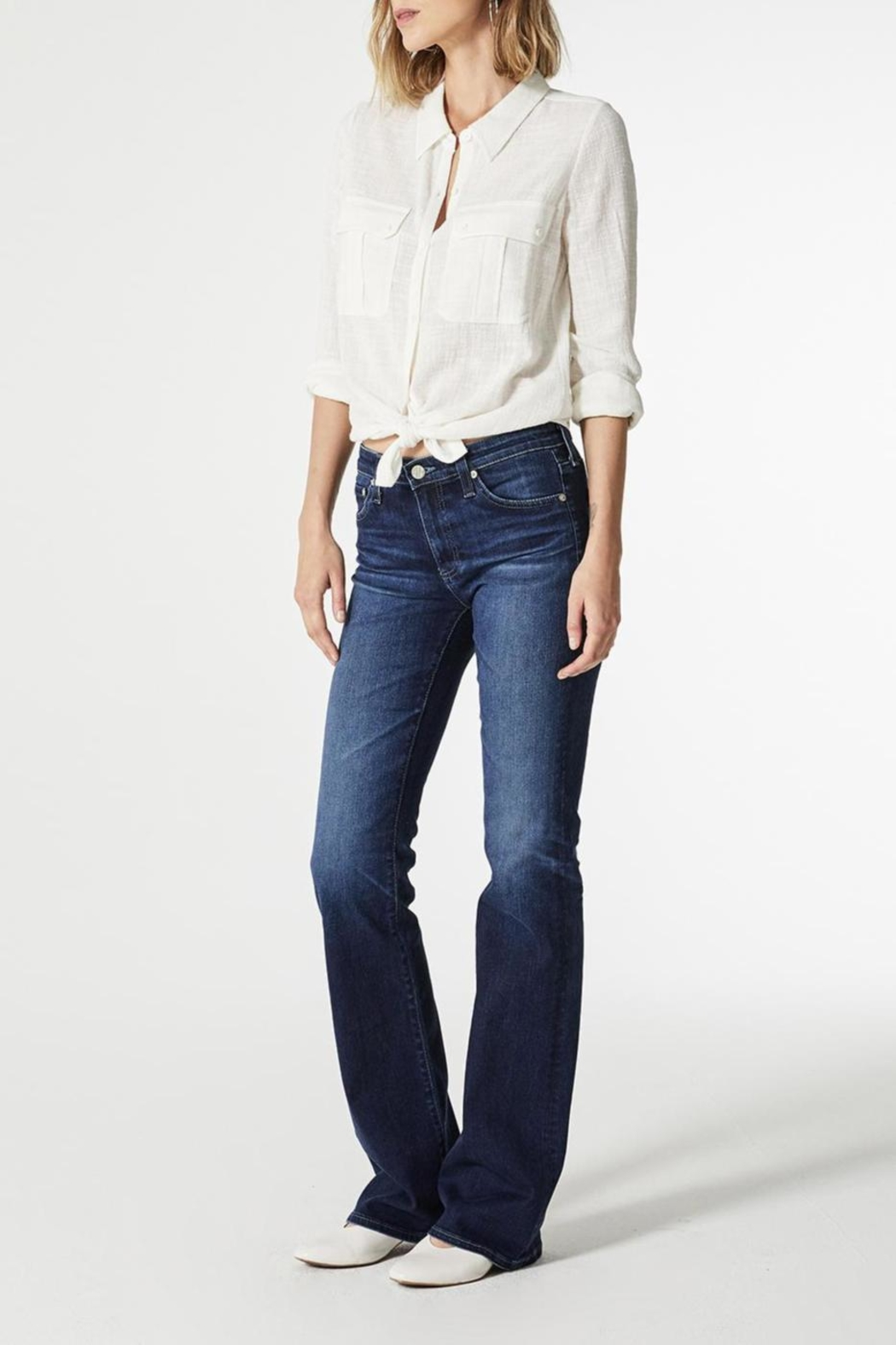 AG Jeans Angel Bootcut Summer-Blues - Front Full Image