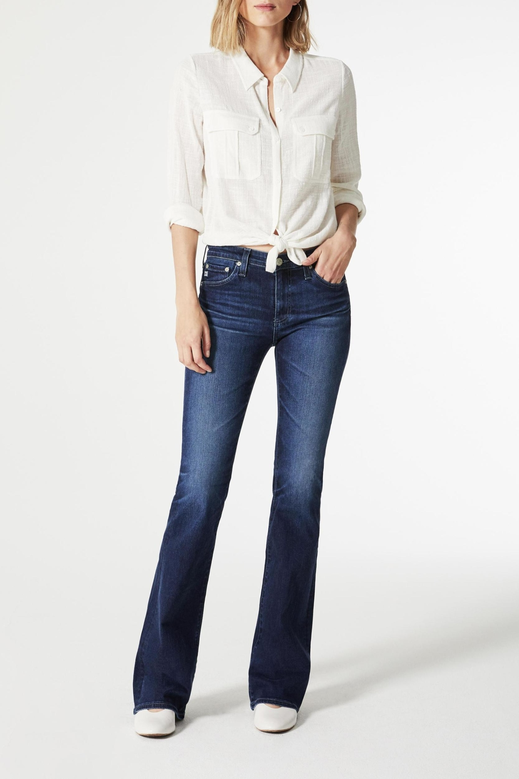 AG Jeans Angel Bootcut Summer-Blues - Main Image