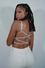 Ta Ta's Boutique Angel Bralette Top - Product Mini Image