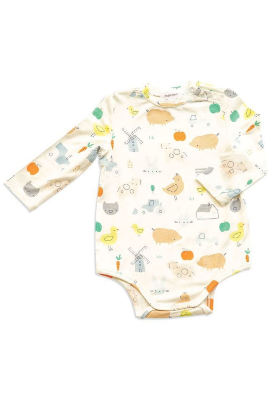 Angel Dear Little Farm Print Bodysuit - Main Image