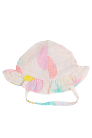 Angel Dear Pink Pineapple Sun Hat - Product Mini Image