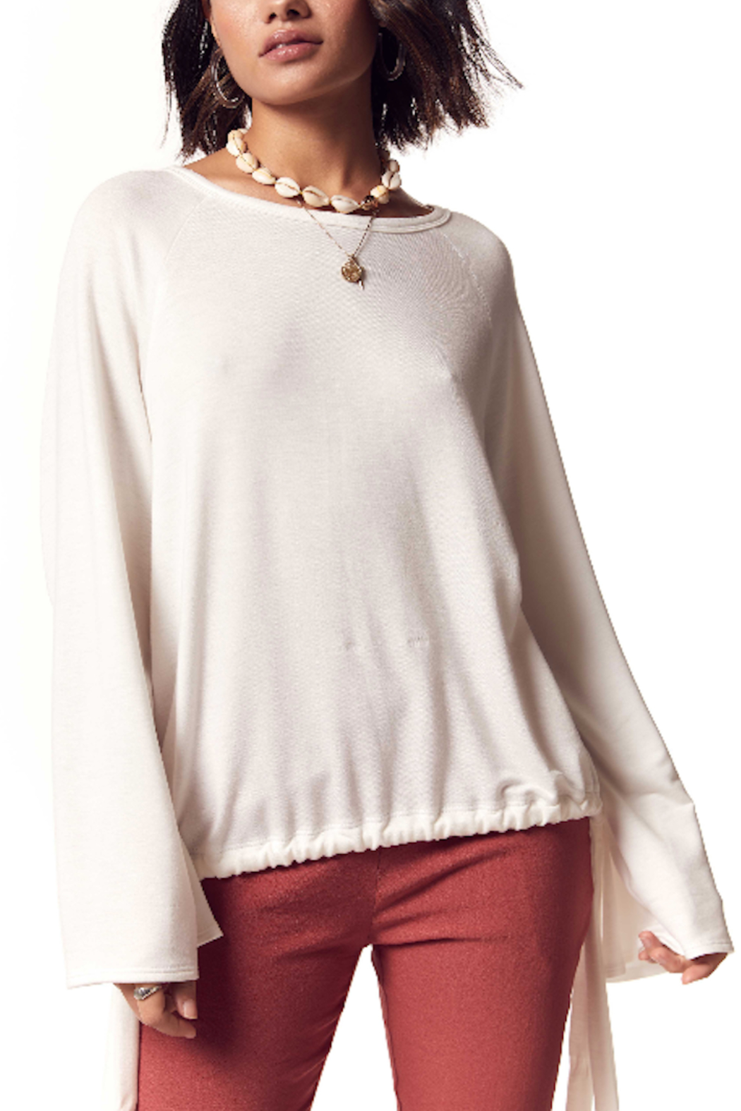 SAGE THE LABEL Angel Eyes Sweater - Front Full Image