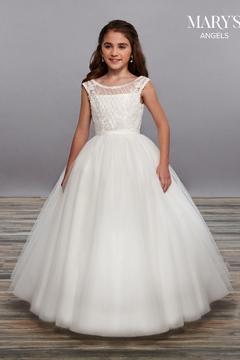 Mary's Bridal Angel Flower Girl Dresses In White Color - Product List Image