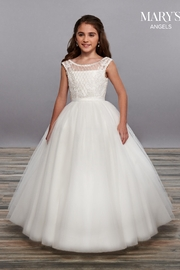 Mary's Bridal Angel Flower Girl Dresses In White Color - Front cropped