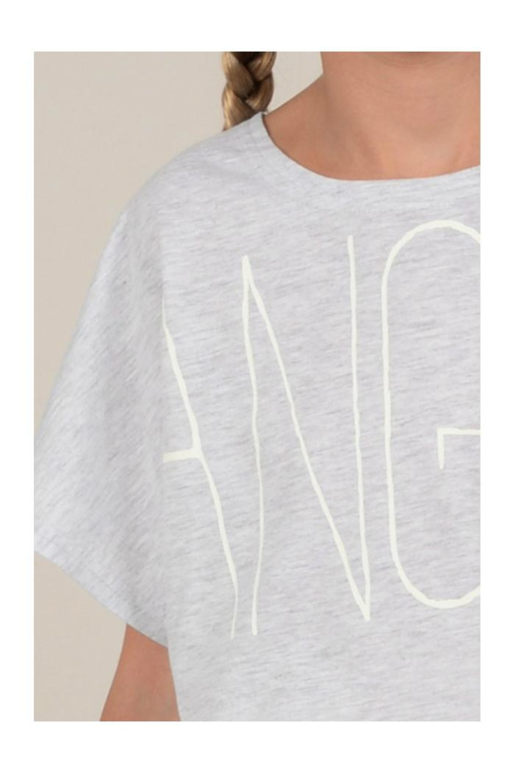 Mini Molly Angel Graphic Tee - Back Cropped Image