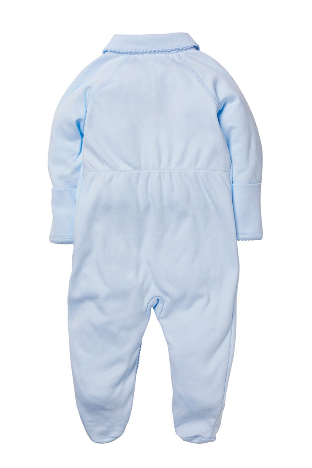 Marie Chantal Angel Onesie With Mittens - Front Full Image