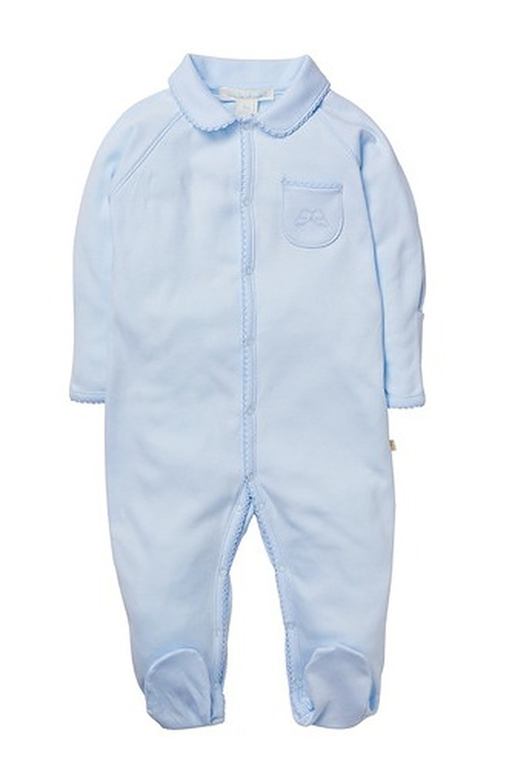 Marie Chantal Angel Onesie With Mittens - Main Image