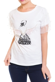 Prestige Angel Pearl t-Shirt - Front full body