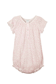 Feather Baby Angel Sleeve Bubble Pintas Hot Pink - Front cropped