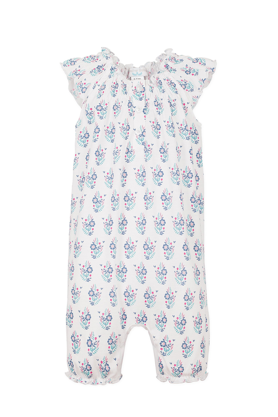 Feather Baby Angel- Sleeve Romper - Main Image