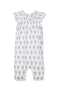 Feather Baby Angel- Sleeve Romper - Alternate List Image