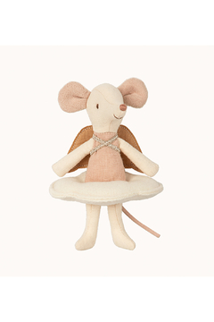 Maileg Angel Stories, Big Sister Mouse In Book - Alternate List Image