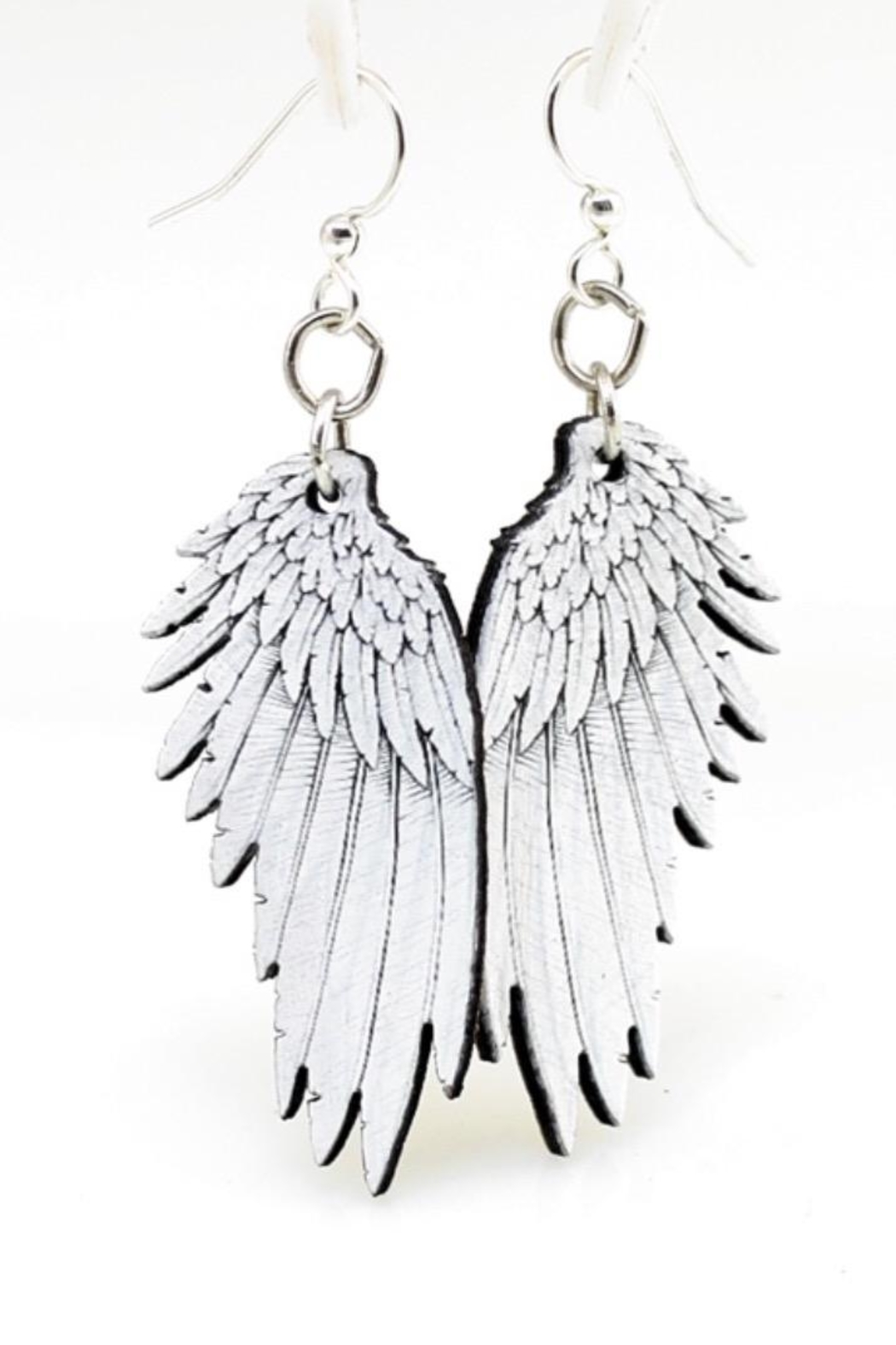 Green Tree Jewelry Angel Wing Earrings - Main Image