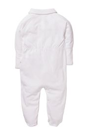 Marie Chantal Angel Wing Onesie With Mittens - Front full body
