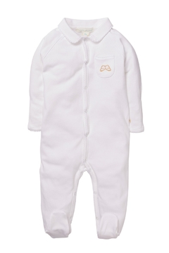 Marie Chantal Angel Wing Onesie With Mittens - Product List Image