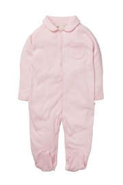 Marie Chantal Angel Wing Onesie With Mittens - Front cropped