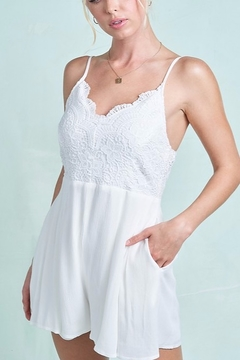 LA MIEL  Angel Wings Romper - Alternate List Image
