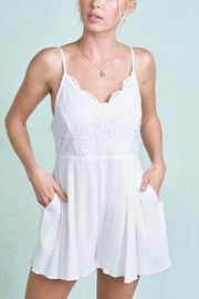 LA MIEL  Angel Wings Romper - Product Mini Image